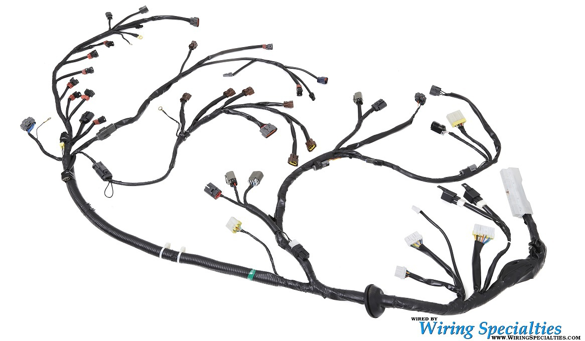 r32gtr oem engine wiring harness